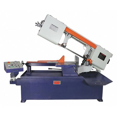 "Horizontal Band Saw,60 Hz,3 HP,54"""" H -  DAYTON, 400H49"