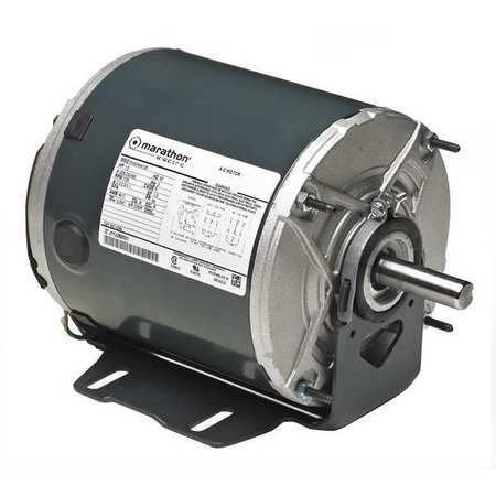 Belt Drive Motor 3/4 HP 1725 rpm by USA Marathon HVAC Belt Drive Motors