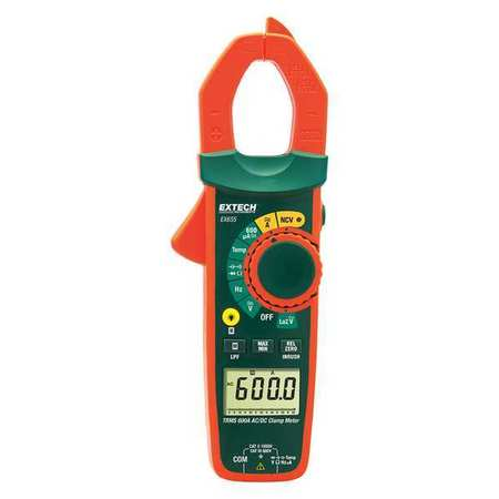 Clamp Meter Digital AAA 600 Max. AC Amps by USA Extech Electrical Clamp Meters