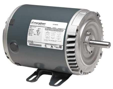 Motor 10 HP 3515 RPM 230/460V 213TC by USA Marathon General Purpose Three Phase AC Motors