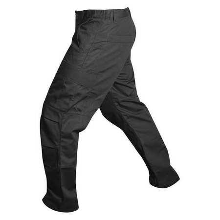 Mens Cargo Pants,black,36 X 30 In.