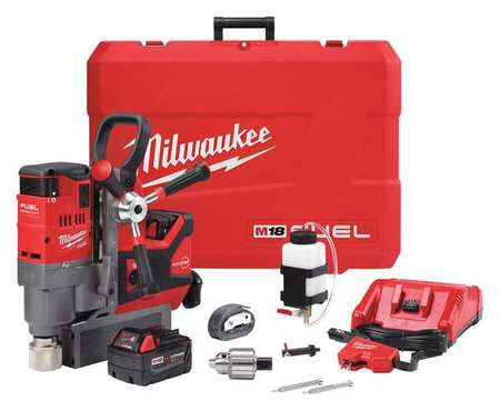 M18 Lineman Magnetic Drill Kit, 18v, Li-ion