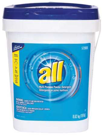 All 19 Lb Tub Fresh Scent Powder Laundry Detergent