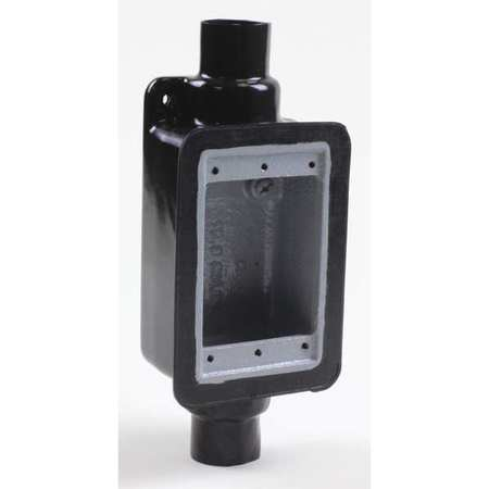 Device Box 1/2in. FDCT Style PVC Coated Model PV0500FS1 by USA Calbond Electrical Boxes