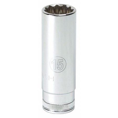 Gearwrench Deep Socket 1/4in Drive 12 Pt. 10mm