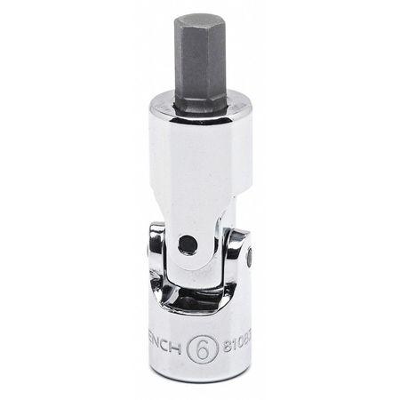 Gearwrench Stubby Metric Hex Bit Socket 6mm