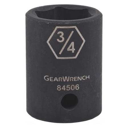 Gearwrench Stndr ImpactSocket 1/2in Dr 6pt 1 7/16in