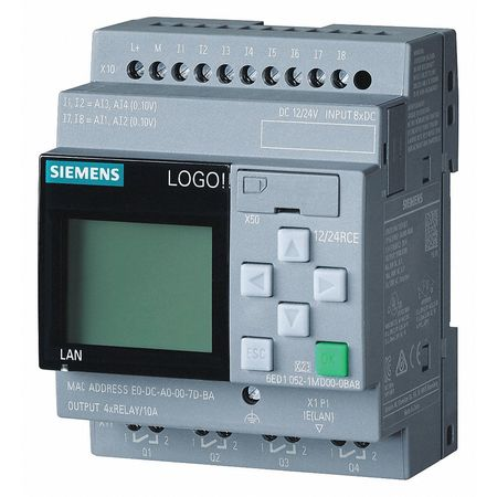 Controller 8 Inputs 4 Outputs by USA Siemens Industrial Automation Programmable Controller Accessories