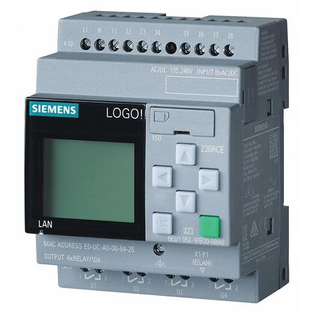 Controller 8 Inputs 4 Outputs Model 6ED10521FB000BA8 by USA Siemens Industrial Automation Programmable Controller Accessories