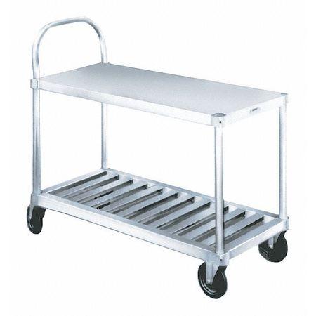 Value Brand Utility Cart Aluminum 600 lb. Ld Cap.