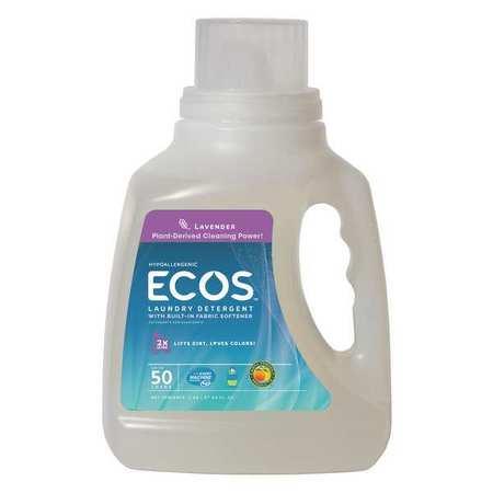 Liq Laundry Detergent,lavender,50 Oz,pk8
