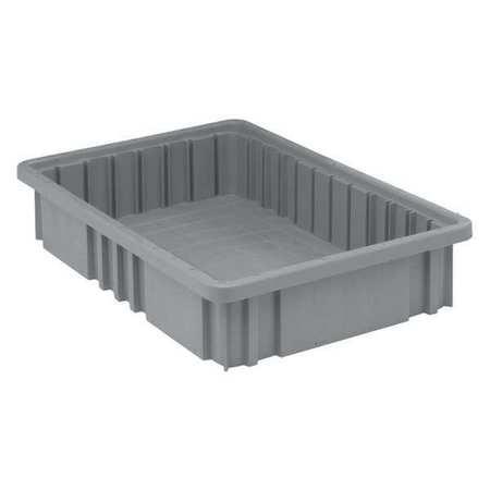 Corrugated Shelf Bin 2 In. W 12 In. D