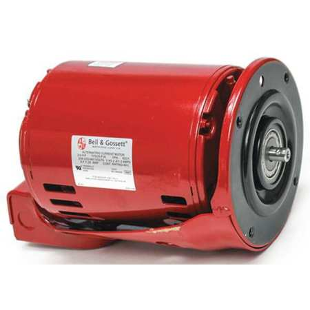 Xylem bell gossett motor 3 4 hp 208 230 460v 3 phase for Bell gossett motors