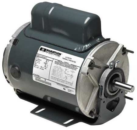 Farm Duty Motor 1/3 HP 1725 RPM 230V 48 Model 5KH36NN37 by USA Marathon AC Farm Duty Motors