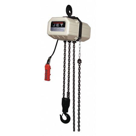 Jet Electric Chain Hoist 1P 15ft Lift 3-Ton