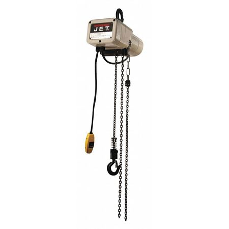 Jet Electric Hoist 20ft Lift 1Ph 1/4-Ton