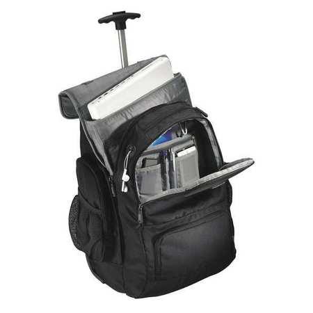 Wheeled Notebook Backpack, Black/Charcoal