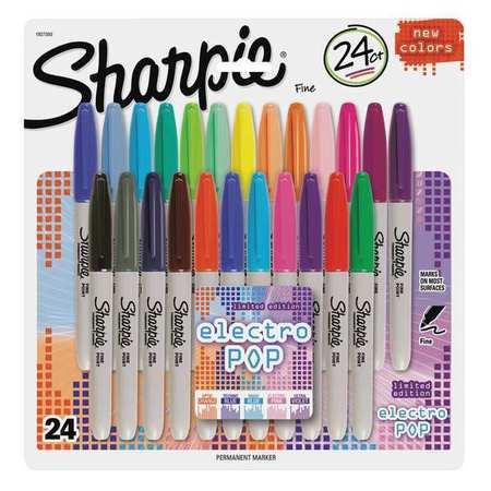 Sharpie Marker,Fine PointAssorted,PK24