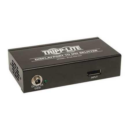 DisplayPort 1.2 Hub MST 2 Port DVI by USA Tripp Lite Audio Video Splitters Connectors & Adapters