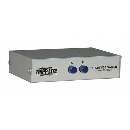 VGA/SVGA Switch 2 Port Manual 3xHD15F by USA Tripp Lite Audio Video Splitters Connectors & Adapters