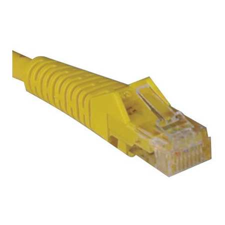 Cat5e Cable Snagless Molded Yellow 14ft by USA Tripp Lite Voice & Data Patch Cords