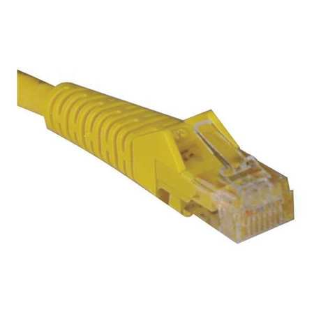 Cat5e Cable Snagless Molded Yellow 25ft by USA Tripp Lite Voice & Data Patch Cords