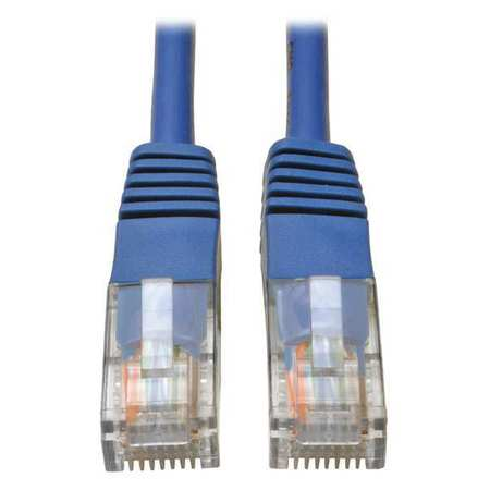 Cat5e Cable Molded RJ45 M/M Blue 3ft by USA Tripp Lite Voice & Data Patch Cords