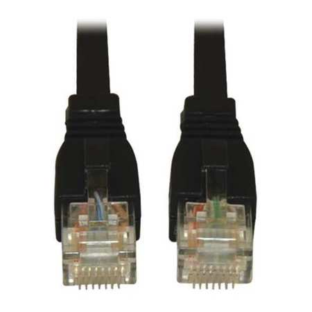 Cat6(a) Cable Snagless 10G Black 5ft by USA Tripp Lite Voice & Data Patch Cords