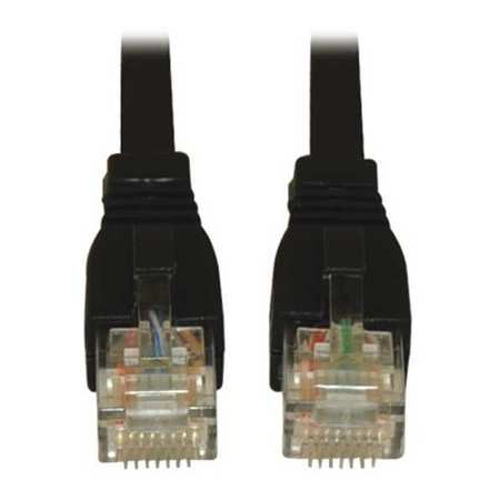 Cat6(a) Cable Snagless 10G Black 25ft by USA Tripp Lite Voice & Data Patch Cords