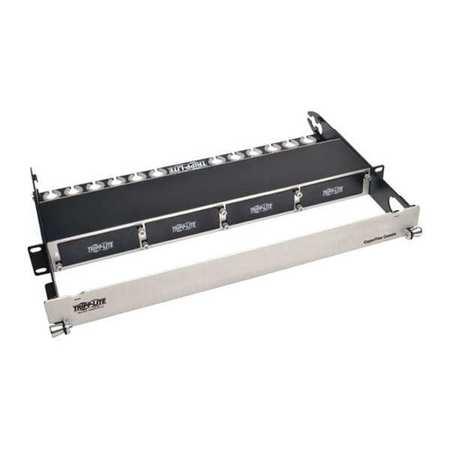 Fiber Panel Copper 1U 4 Cassette by USA Tripp Lite Industrial Automation Programmable Controller Accessories
