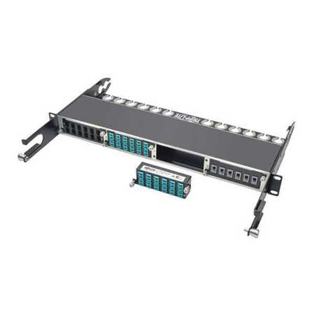 Fiber Cassette 10Gbe 12x LC Duplex by USA Tripp Lite Industrial Automation Programmable Controller Accessories