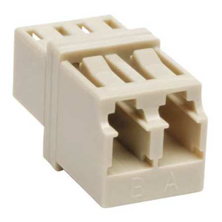 Duplex Multimode Fiber Optic Coupler LC by USA Tripp Lite Fiber Optic Cable