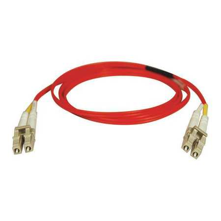 Fiber Optic Cable MMF 62.5 LC/LC 5m Model N320 05M RD by USA Tripp Lite Fiber Optic Cable