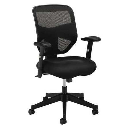 Chair,Mesh,Hi-Back,Black