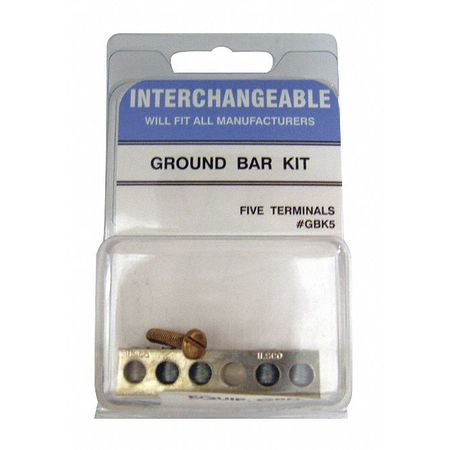 Ground Bar Kit Five Position by USA Eag Circuit Breaker Accessories