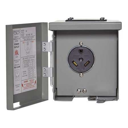 RV Power Oulet 30A by USA Cesmps Circuit Breaker Accessories