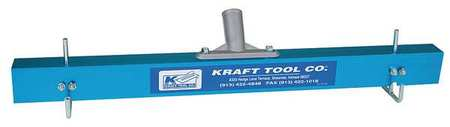 Kraft Tool Concrete Gauge Rake 24 in Aluminum