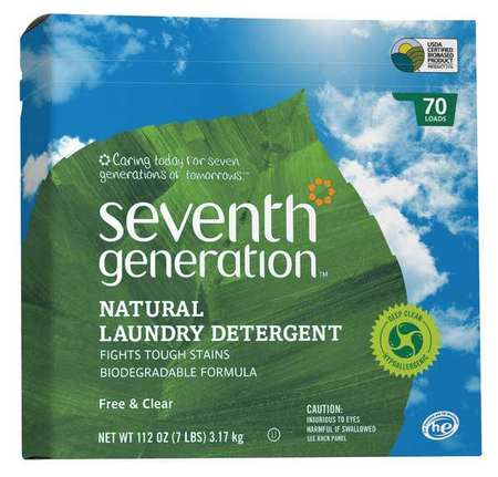 112 Oz. Box High Efficiency Powder Laundry Detergent
