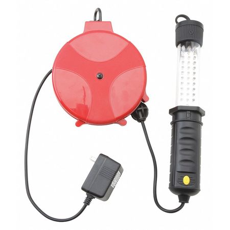 SJTW 20ft. Retractable Cord Reel w/Light Min. Qty 4 by USA Woods Extension Cord Reels
