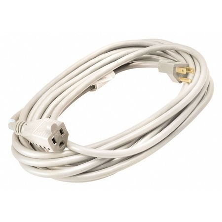 20 ft. White Extension Cord 16/3 Min. Qty 12 by USA Coleman Extension Cords