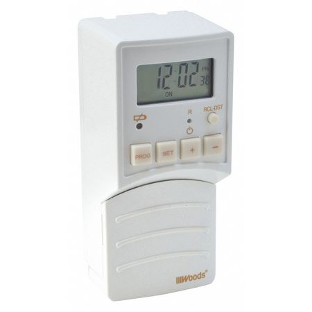 Digital Light Switch Timer/flip switch by USA Woods Electrical Plug In & Wall Switch Timers