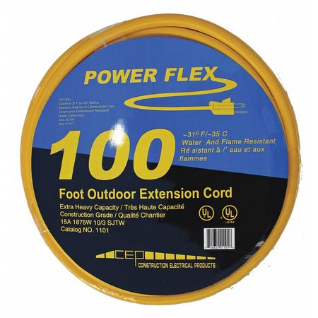 100 ft. 10/3 Extension Cord by USA CEP Extension Cords