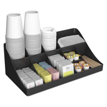 Coffee Condiment Organizer,black
