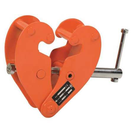 Beam Clamp Horizontal Lift Style 2K lb. by USA Vestil Electrical Conduit Clamps & Hangers