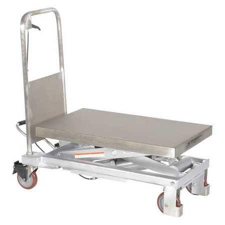 Vestil Partial SS Elevating Cart 750 lb 32.5x20