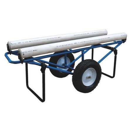 Vestil Rug Dispenser Foam-Filled Wheels 25 x 61