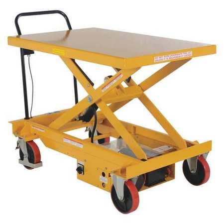 Vestil DC Power Hydr Scissor Cart 1K 31.5x47.15