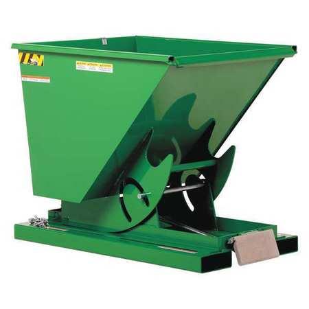 Vestil Self-Dump LD Hopper .75 cu. yd. 2K Green