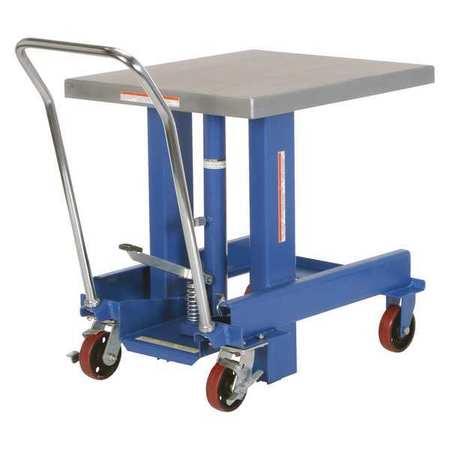 Vestil Ergo Manual Chrome Platform Table 48