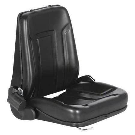 Vestil Deluxe ForkLift Vinyl Seat-Seat Belt